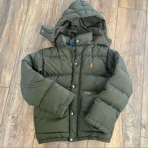 {preloved} Boy's Polo Puffer Coat